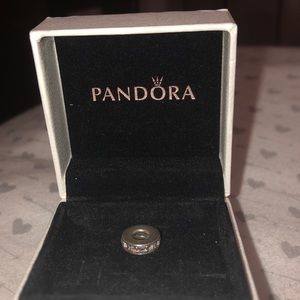 Selling purple sparkle pandora charm